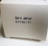 Лампа медицинская  24V 60W Ba20d