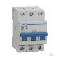 Автоматический выключатель NB1-63 3P 13A 6кА х-ка D (CHINT)