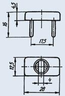 Фоторезистор ФСК-2
