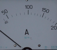 Амперметр Э378 0- 20/5 А ~1.5