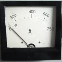 Амперметр Э378 0-750/5 А ~1.5
