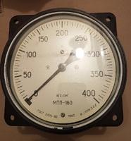 Манометр МТП-160 400 кгс/см2 с осевым штуцером