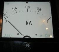 Амперметр Э378 0-1000/5 А ~1.5