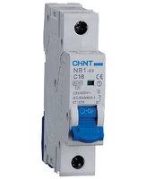 Автоматический выключатель NB1-63 1P 2A 6кА х-ка B (CHINT)
